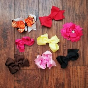 Other - Bundle of 8 Bows